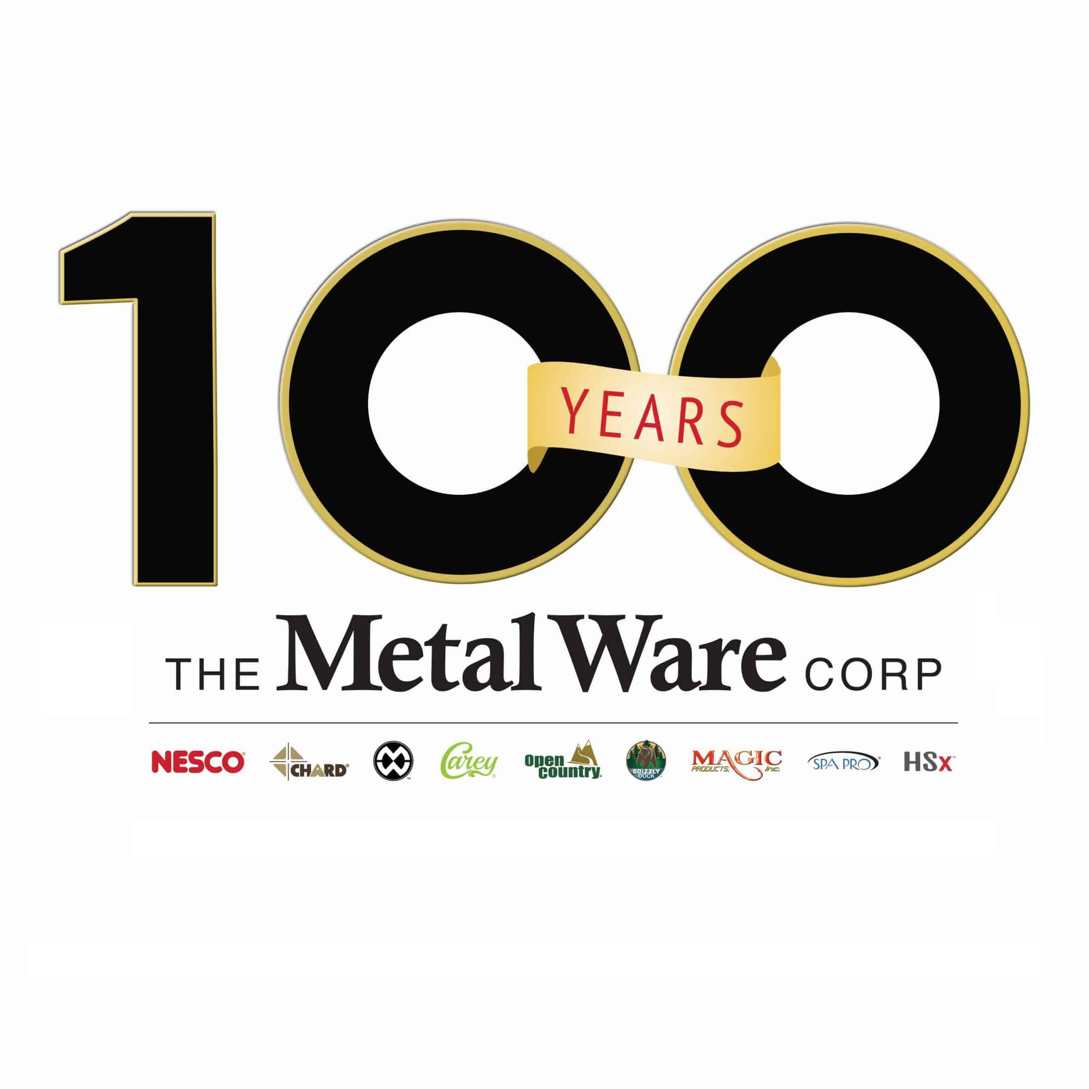 The Metal Ware Corporation Celebrates 100th Anniversary